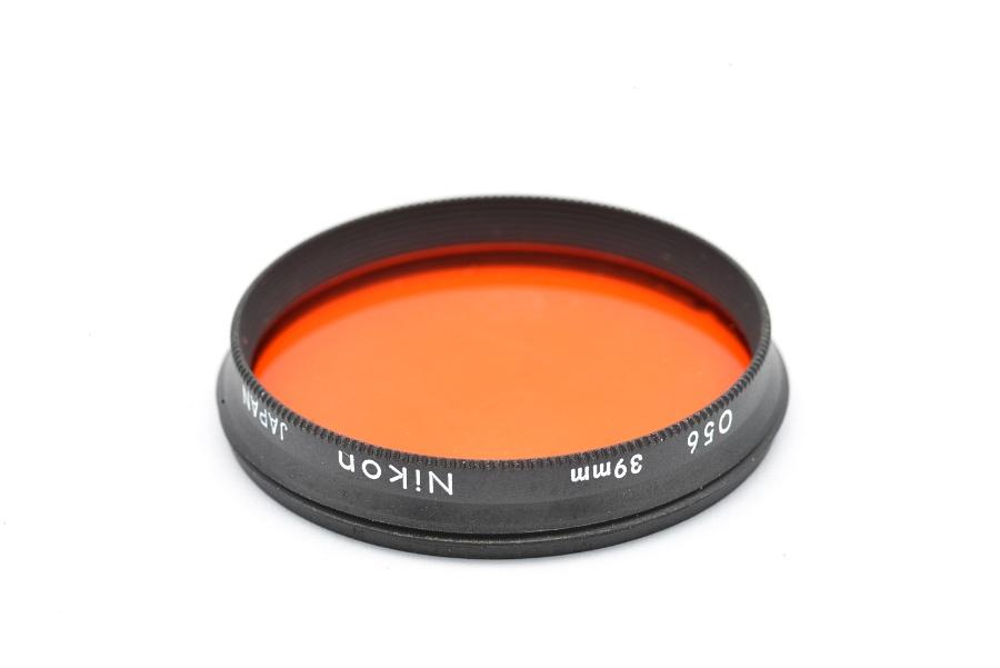 39MM 056 Orange Screw in FILTER