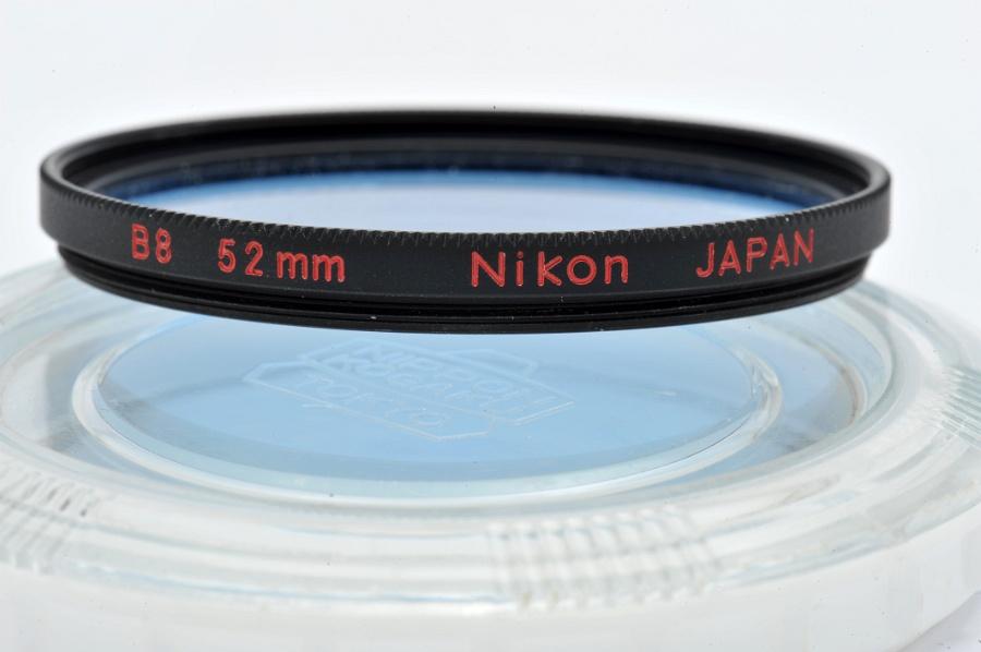 Uv  >> B8 52mm Nikon Screw-In Filter